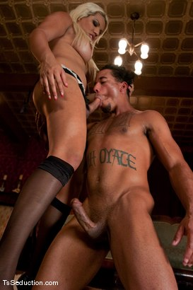 Photo number 6 from The New Maid   Annalise shot for TS Seduction on Kink.com. Featuring Annalise and Lobo in hardcore BDSM & Fetish porn.