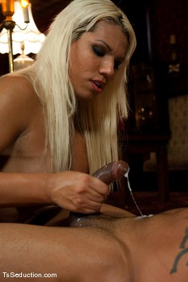 Photo number 14 from The New Maid   Annalise shot for TS Seduction on Kink.com. Featuring Annalise and Lobo in hardcore BDSM & Fetish porn.
