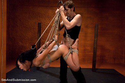 Photo number 10 from Submission of Tia Ling shot for Sex And Submission on Kink.com. Featuring John Henry and Tia Ling in hardcore BDSM & Fetish porn.