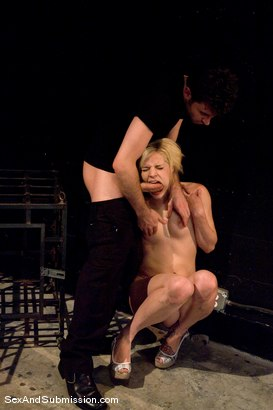 Photo number 6 from Ally Ann shot for Sex And Submission on Kink.com. Featuring Ally Ann and James Deen in hardcore BDSM & Fetish porn.