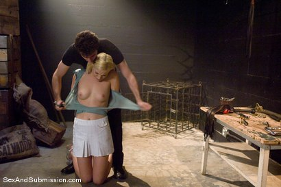 Photo number 2 from Ally Ann shot for Sex And Submission on Kink.com. Featuring Ally Ann and James Deen in hardcore BDSM & Fetish porn.