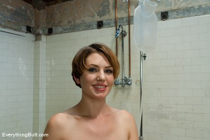 Photo number 15 from Anal Audition: Sarah Shevon plugs her enema shot for Everything Butt on Kink.com. Featuring Sarah Shevon in hardcore BDSM & Fetish porn.