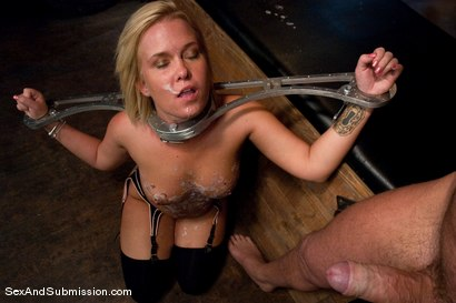 Photo number 14 from Sasha Knox shot for Sex And Submission on Kink.com. Featuring Mark Davis and Sasha Knox in hardcore BDSM & Fetish porn.