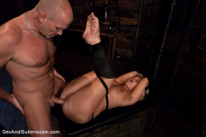 Photo number 4 from Sasha Knox shot for Sex And Submission on Kink.com. Featuring Mark Davis and Sasha Knox in hardcore BDSM & Fetish porn.