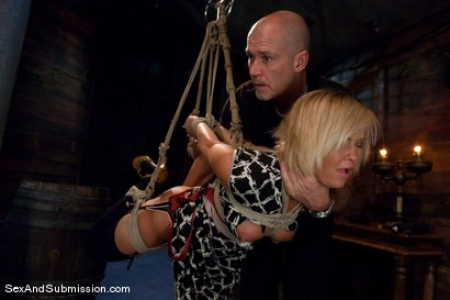 Photo number 3 from Sasha Knox shot for Sex And Submission on Kink.com. Featuring Mark Davis and Sasha Knox in hardcore BDSM & Fetish porn.