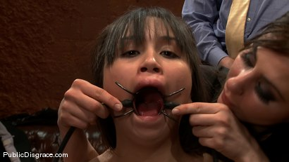 Photo number 14 from Sasha Yung - The Almost Virgin shot for Public Disgrace on Kink.com. Featuring Sasha Yung in hardcore BDSM & Fetish porn.