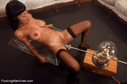 Photo number 3 from Member request <br> Evanni Solei shot for Fucking Machines on Kink.com. Featuring Evanni Solei in hardcore BDSM & Fetish porn.