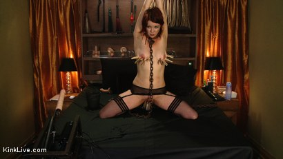 Photo number 6 from Lilla Kat is a Good Good Kitty shot for Kink Live on Kink.com. Featuring Lilla Katt in hardcore BDSM & Fetish porn.