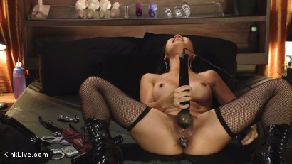 Photo number 5 from Tia Ling Live and Horny!!!!!!! shot for Kink Live on Kink.com. Featuring Tia Ling in hardcore BDSM & Fetish porn.