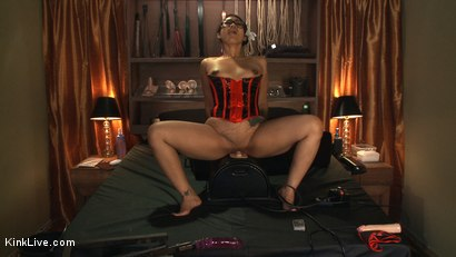 Photo number 8 from The Beautiful and Sexy Dragonlily shot for Kink Live on Kink.com. Featuring DragonLily in hardcore BDSM & Fetish porn.