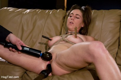 "Photo number 13 from Amateur Casting Couch: ""Fuck my ASS live"" Minx Grrl says shot for Hogtied on Kink.com. Featuring Minx Grrl in hardcore BDSM & Fetish porn."