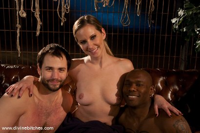Photo number 11 from Merry Christmas Slaveboys! Bonus: Live Divine Bitches Launch Show! shot for Divine Bitches on Kink.com. Featuring Jack Hammer, Maitresse Madeline Marlowe and David Chase in hardcore BDSM & Fetish porn.