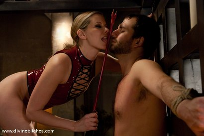Photo number 15 from Merry Christmas Slaveboys! Bonus: Live Divine Bitches Launch Show! shot for Divine Bitches on Kink.com. Featuring Jack Hammer, Maitresse Madeline Marlowe  and David Chase in hardcore BDSM & Fetish porn.