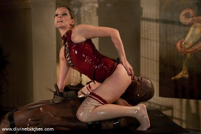 Photo number 5 from Merry Christmas Slaveboys! Bonus: Live Divine Bitches Launch Show! shot for Divine Bitches on Kink.com. Featuring Jack Hammer, Maitresse Madeline Marlowe and David Chase in hardcore BDSM & Fetish porn.