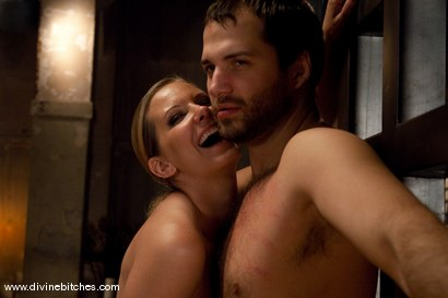 Photo number 9 from Merry Christmas Slaveboys! Bonus: Live Divine Bitches Launch Show! shot for Divine Bitches on Kink.com. Featuring Jack Hammer, Maitresse Madeline Marlowe  and David Chase in hardcore BDSM & Fetish porn.
