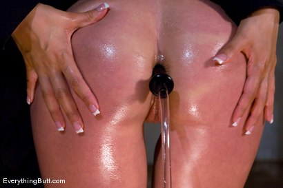 Photo number 4 from Felony cleaned out & anally splayed open shot for Everything Butt on Kink.com. Featuring Isis Love and Felony in hardcore BDSM & Fetish porn.