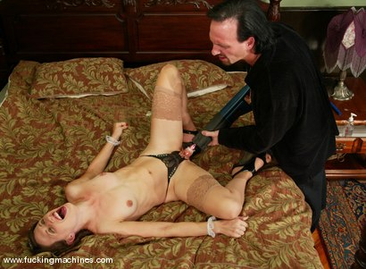 Photo number 9 from Lena Ramon and Hamilton shot for Fucking Machines on Kink.com. Featuring Lena Ramon and Hamilton in hardcore BDSM & Fetish porn.