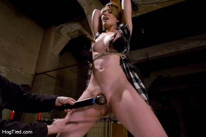 Photo number 3 from Sarah Shevon fist fucked by Felony shot for Hogtied on Kink.com. Featuring Felony and Sarah Shevon in hardcore BDSM & Fetish porn.
