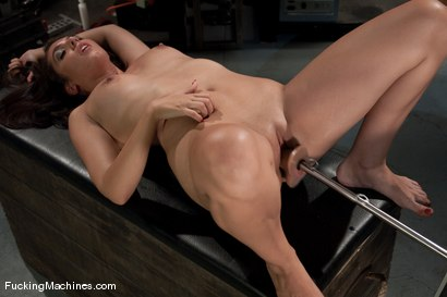 Photo number 12 from AMATEUR GIRL FRIDAYS SPECIAL EDITION <BR> CONTEST FOR PORN VIRGINS shot for Fucking Machines on Kink.com. Featuring Claire in hardcore BDSM & Fetish porn.