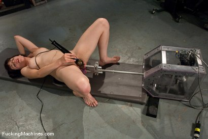 Photo number 12 from AMATEUR GIRL FRIDAYS <br> SPECIAL EDITION CONTEST FOR PORN VIRGINS shot for Fucking Machines on Kink.com. Featuring Any in hardcore BDSM & Fetish porn.
