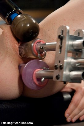 Photo number 14 from AMATEUR GIRL FRIDAYS <br> SPECIAL EDITION CONTEST FOR PORN VIRGINS shot for Fucking Machines on Kink.com. Featuring Any in hardcore BDSM & Fetish porn.