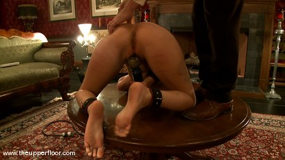 Photo number 11 from Service Sessions: The First House Slave shot for The Upper Floor on Kink.com. Featuring Cherry Torn in hardcore BDSM & Fetish porn.