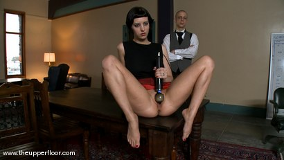 Photo number 15 from Service Sessions: The First House Slave shot for The Upper Floor on Kink.com. Featuring Cherry Torn in hardcore BDSM & Fetish porn.