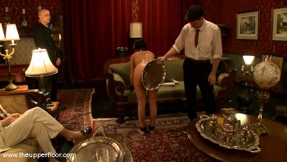 Photo number 8 from Service Sessions: The First House Slave shot for The Upper Floor on Kink.com. Featuring Cherry Torn in hardcore BDSM & Fetish porn.