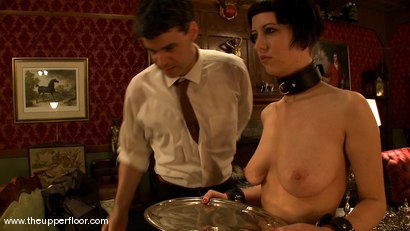 Photo number 10 from Service Sessions: The First House Slave shot for The Upper Floor on Kink.com. Featuring Cherry Torn in hardcore BDSM & Fetish porn.