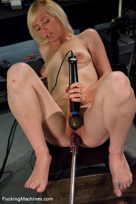 Photo number 9 from AMATEUR GIRL FRIDAYS SPECIAL EDITION <BR> CONTEST FOR PORN VIRGINS shot for Fucking Machines on Kink.com. Featuring Amber Ann in hardcore BDSM & Fetish porn.