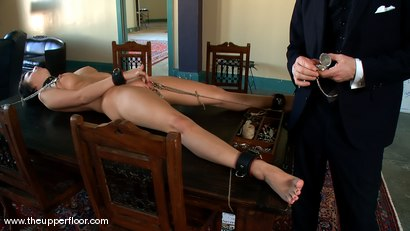 Photo number 9 from Service Sessions: House Routines shot for The Upper Floor on Kink.com. Featuring Cherry Torn in hardcore BDSM & Fetish porn.