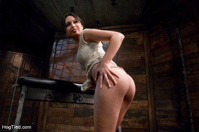 Photo number 3 from Amateur Casting Couch: Sasha is almost a virgin shot for Hogtied on Kink.com. Featuring Sasha Yung in hardcore BDSM & Fetish porn.