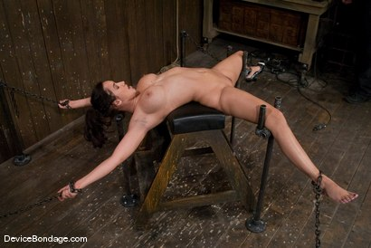Photo number 13 from Isis Love <br> Suffers the hardest, wettest, most brutal orgasm, of her life. shot for Device Bondage on Kink.com. Featuring Isis Love in hardcore BDSM & Fetish porn.