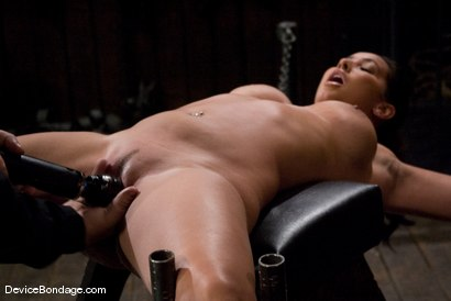 Photo number 10 from Isis Love <br> Suffers the hardest, wettest, most brutal orgasm, of her life. shot for Device Bondage on Kink.com. Featuring Isis Love in hardcore BDSM & Fetish porn.