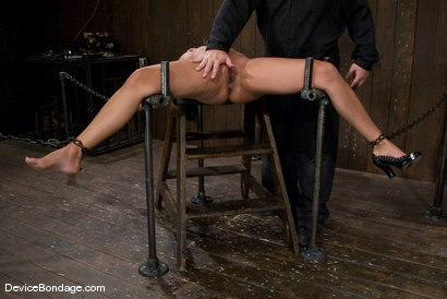 Photo number 12 from Isis Love <br> Suffers the hardest, wettest, most brutal orgasm, of her life. shot for Device Bondage on Kink.com. Featuring Isis Love in hardcore BDSM & Fetish porn.