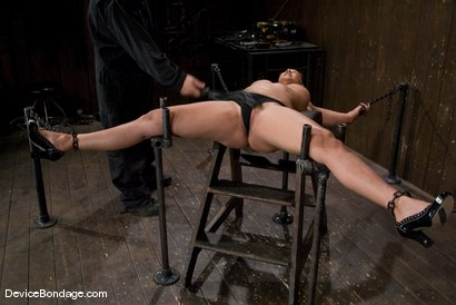 Photo number 8 from Isis Love <br> Suffers the hardest, wettest, most brutal orgasm, of her life. shot for Device Bondage on Kink.com. Featuring Isis Love in hardcore BDSM & Fetish porn.