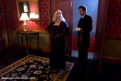 Photo number 1 from The Butler and the Mistress shot for Sex And Submission on Kink.com. Featuring Missy Woods and Steve Holmes in hardcore BDSM & Fetish porn.