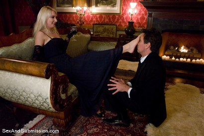 Photo number 3 from The Butler and the Mistress shot for Sex And Submission on Kink.com. Featuring Missy Woods and Steve Holmes in hardcore BDSM & Fetish porn.