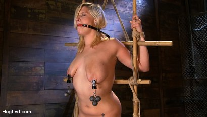 Photo number 12 from Big Titted Lacey Jane shot for Hogtied on Kink.com. Featuring Lacey Jane in hardcore BDSM & Fetish porn.