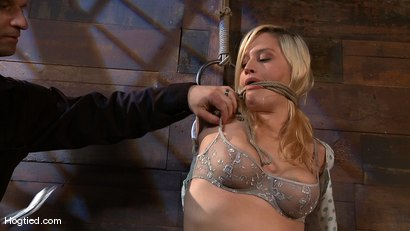 Photo number 2 from Big Titted Lacey Jane shot for Hogtied on Kink.com. Featuring Lacey Jane in hardcore BDSM & Fetish porn.