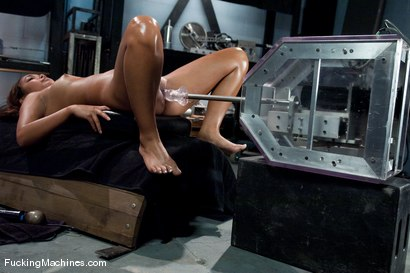 Photo number 7 from AMATEUR GIRL FRIDAY <BR> Dahlia Toy shot for Fucking Machines on Kink.com. Featuring Dahlia Toy in hardcore BDSM & Fetish porn.