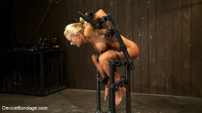 Photo number 14 from Holly Heart<br> Former collegiate athlete cumming like a whore shot for Device Bondage on Kink.com. Featuring Holly Heart in hardcore BDSM & Fetish porn.