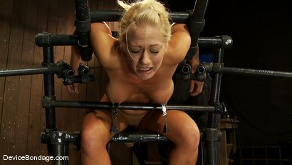 Photo number 9 from Holly Heart<br> Former collegiate athlete cumming like a whore shot for Device Bondage on Kink.com. Featuring Holly Heart in hardcore BDSM & Fetish porn.
