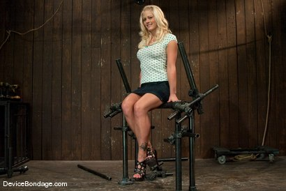 Photo number 2 from Holly Heart<br> Former collegiate athlete cumming like a whore shot for Device Bondage on Kink.com. Featuring Holly Heart in hardcore BDSM & Fetish porn.