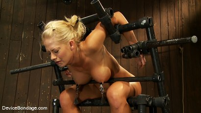 Photo number 13 from Holly Heart<br> Former collegiate athlete cumming like a whore shot for Device Bondage on Kink.com. Featuring Holly Heart in hardcore BDSM & Fetish porn.