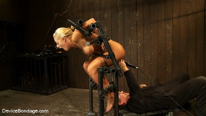Photo number 4 from Holly Heart<br> Former collegiate athlete cumming like a whore shot for Device Bondage on Kink.com. Featuring Holly Heart in hardcore BDSM & Fetish porn.