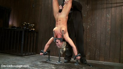 Photo number 6 from Holly Heart<br> Former collegiate athlete upside down, butt plugged, and made to cum! shot for Device Bondage on Kink.com. Featuring Holly Heart in hardcore BDSM & Fetish porn.