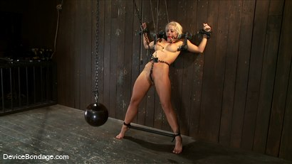 Photo number 13 from Holly Heart<br>Shut your whore mouth, i'll give you something to cry about. shot for Device Bondage on Kink.com. Featuring Holly Heart in hardcore BDSM & Fetish porn.