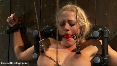 Photo number 7 from Holly Heart<br>Shut your whore mouth, i'll give you something to cry about. shot for Device Bondage on Kink.com. Featuring Holly Heart in hardcore BDSM & Fetish porn.