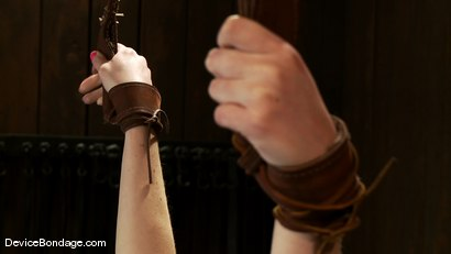 Photo number 1 from Marie McCray<br> So sweet, so innocent, so wrist suspended, so fucked! shot for Device Bondage on Kink.com. Featuring Marie McCray in hardcore BDSM & Fetish porn.